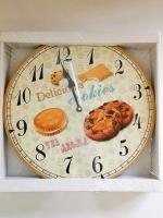 นาฬิกาติดผนังจตุจักร รุ่นขนม Cookies