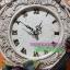 นาฬิกาแขวนผนังเรซิ่น สไตล์วินเทจ ประดับกุหลาบ และไวโอลิน thumbnail 4