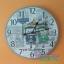 นาฬิกาแขวนเก๋ๆสไตล์วินเทจขนาดใหญ่ 60 ซม. รุ่นรถตุ๊กๆไทยแลนด์ thumbnail 1