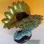 ตุ๊กตานกยูงเรซิ่น สำหรับตั้งโชว์ตกแต่งบ้าน สูง 27 เซนติเมตร รุ่น DT0183 ใช้เป็นแจกันดอกไม้ได้ thumbnail 4