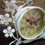 นาฬิกาวินเทจตั้งโต๊ะ รุ่นดอกไม้ตะกร้าขาว thumbnail 4