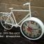 นาฬิกาตั้งโต๊ะ รูปจักรยานขาว thumbnail 3