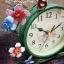 นาฬิกาตั้งโต๊ะ รุ่นดอกไม้ตะกร้าเขียว thumbnail 5