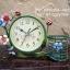 นาฬิกาตั้งโต๊ะ รุ่นดอกไม้ตะกร้าเขียว thumbnail 1