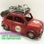 ของแต่งบ้านวินเทจ รุ่นรถ Mini 500 สีแดงบรรทุกสัมภาระ thumbnail 3