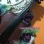 นาฬิกาแขวนผนังเรซิ่น สไตล์วินเทจ ประดับกุหลาบ และไวโอลิน thumbnail 5