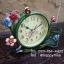 นาฬิกาตั้งโต๊ะ รุ่นดอกไม้ตะกร้าเขียว thumbnail 3