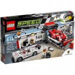 LEGO Speed Champions 75876 Porsche 919 Hybrid & 917K Pit Lane