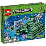 LEGO Minecraft 21136 The Ocean Monument (กล่องไม่สวย - Damaged Box)