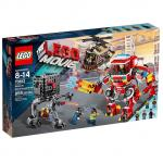 LEGO The Lego Movie 70813 Rescue Reinforcements (Damaged Box) กล่องไม่สวย ไม่เหมาะสำหรับสะสม