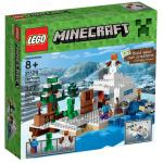 LEGO Minecraft 21120 the Snow Hideout (กล่องไม่สวย-Damaged Box)