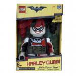 LEGO The Lego Batman Movie 9009310 Harley Quinn Kids Minifigure Alarm Clock