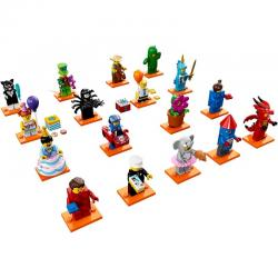 LEGO Minifigures 71021 เลโก้ Minifigure Series 18 (16 Packs ไม่รวม Classic Police Officer)