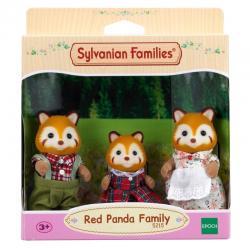 Sylvanian Families 5215 Red Panda Family