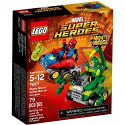 LEGO Super Heroes 76071 Mighty Micros: Spider-Man vs. Scorpion