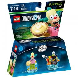 LEGO Dimensions 71227 Simpsons Krusty Fun Pack