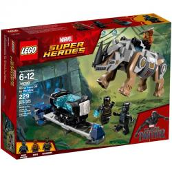 LEGO Super Heroes 76099 เลโก้ Rhino Face-Off by the Mine