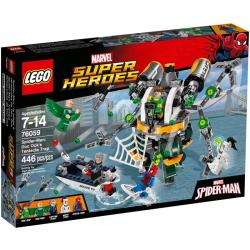 LEGO Super Heroes 76059 Spider-Man: Doc Ock's Tentacle Trap