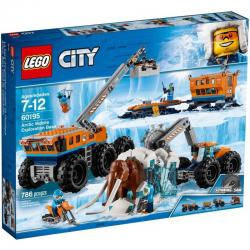 LEGO City 60195 เลโก้ Arctic Mobile Exploration Base