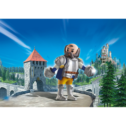 PLAYMOBIL 6698 Super 4 Royal Guard Sir Ulf Figure