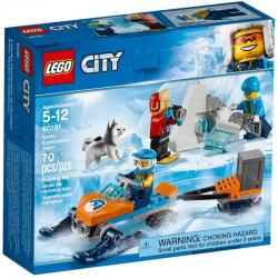 LEGO City 60191 เลโก้ Arctic Exploration Team