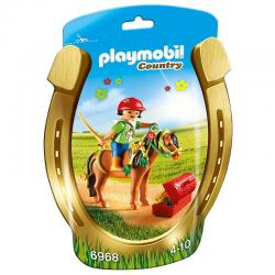 PLAYMOBIL 6968 Groomer with Bloom Pony