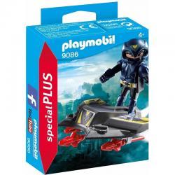 PLAYMOBIL 9086 Sky Knight with Jet