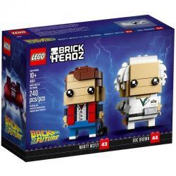 LEGO Brickheadz 41611 เลโก้ Marty McFly & Doc Brown