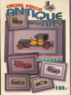 CROSS STITCH ANTIQUE CARS