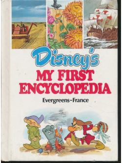 Disney's MY FIRST ENCYCLOPEDIA Evergreens - France