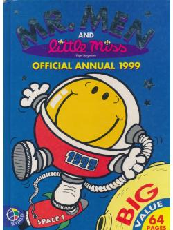 MR.MEN AND LITTLE MISS OFFICIAL ANNUAL 1999