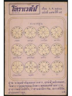 โหราเวสม์ ฉบับที่ ๑๗๒ ปีที่ ๑๕ พ.ศ ๒๕๓๑