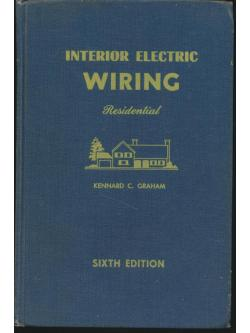 INTERIOR ELECTRIC WIRING Residential