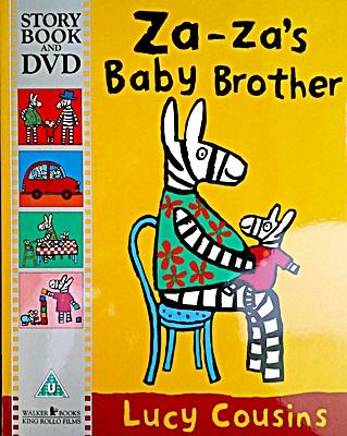 Za-Za's Baby Brother (Story Book & DVD)