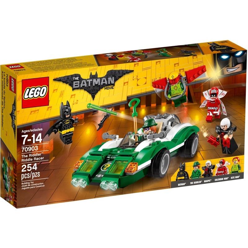 LEGO The Lego Batman Movie 70903 The Riddler Riddle Racer