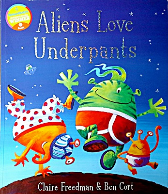 Alien Love Underpants