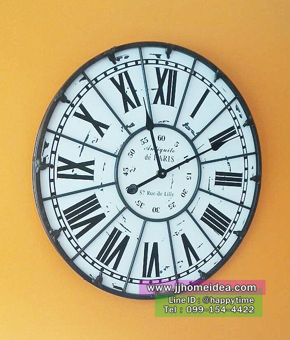 นาฬิกาวินเทจแขวนผนังขนาดใหญ่