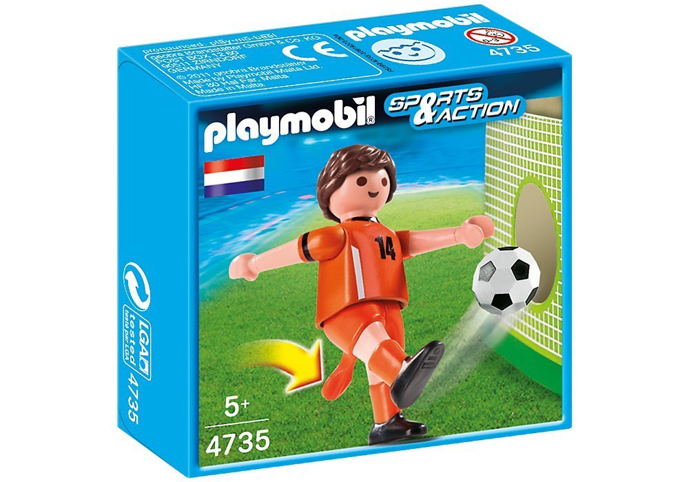 Playmobil 4735 Netherlands Soccer Player