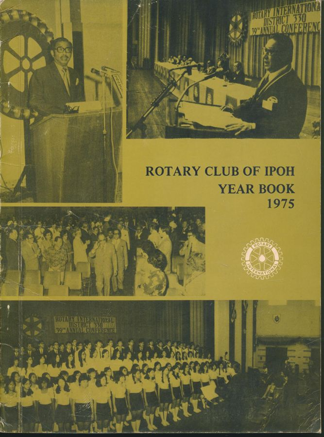 ROTARY CLUB OF IPOH YEAR BOOK 1975