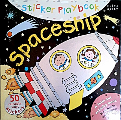 Sticker Playbook - Spaceship