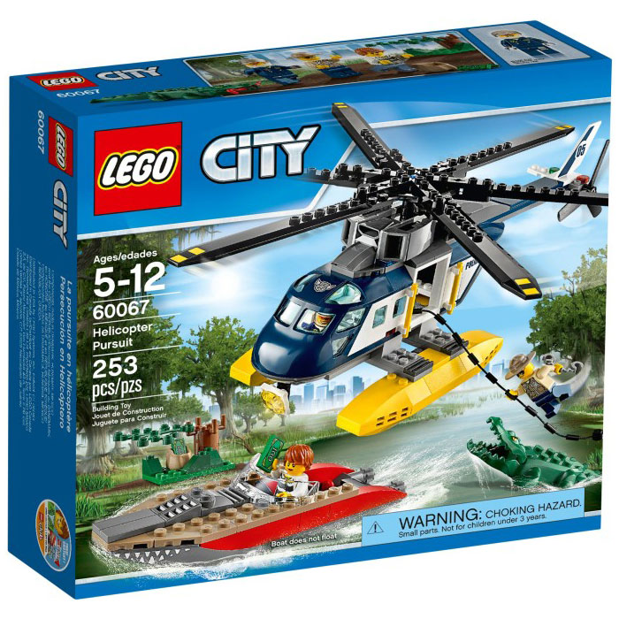LEGO City 60067 Police Helicopter Pursuit