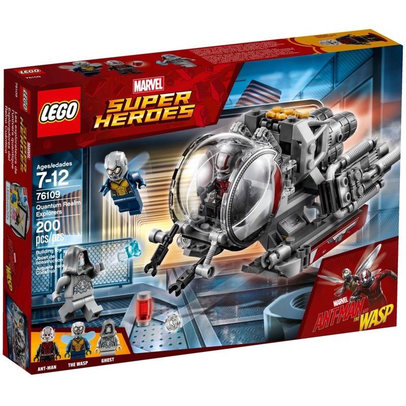 LEGO Super Heroes 76109 เลโก้ Quantum Realm Explorers