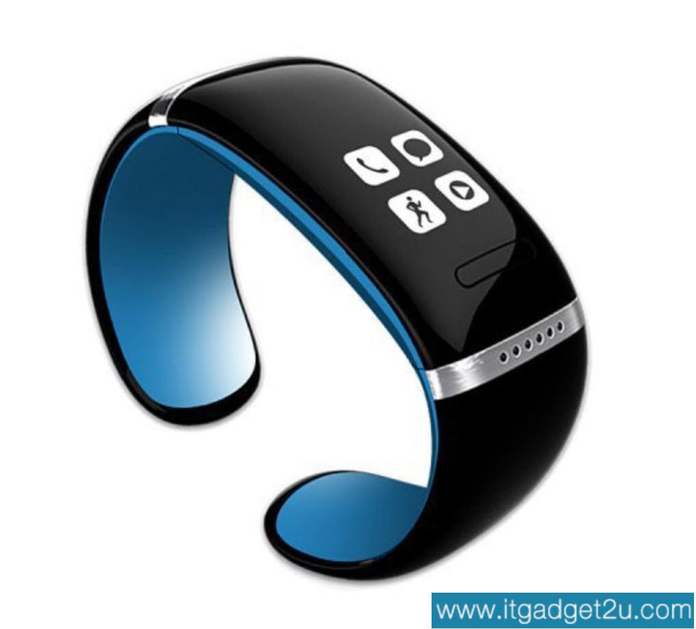 นาฬิกาโทรศัพท์ Bluetooth Smart Watch รุ่น L12S Bracelet Wrist สีน้ำเงิน ปกติราคา 2,450 ลดเหลือ 1,490 บาท