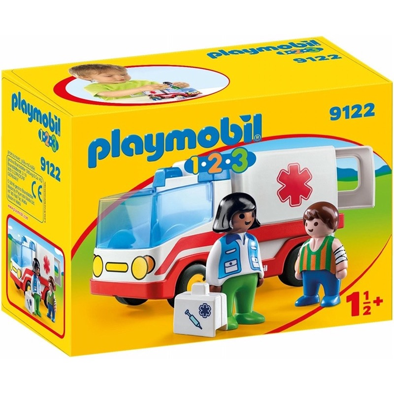 PLAYMOBIL 9122 1.2.3 Rescue Ambulance
