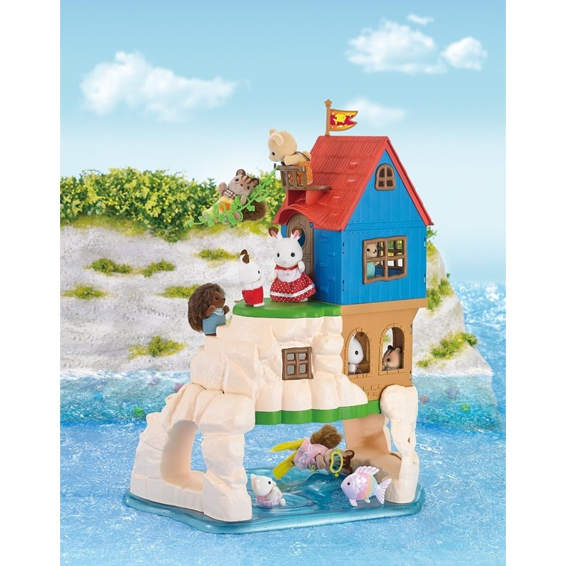 Sylvanian Families 5229 Secret Island Playhouse