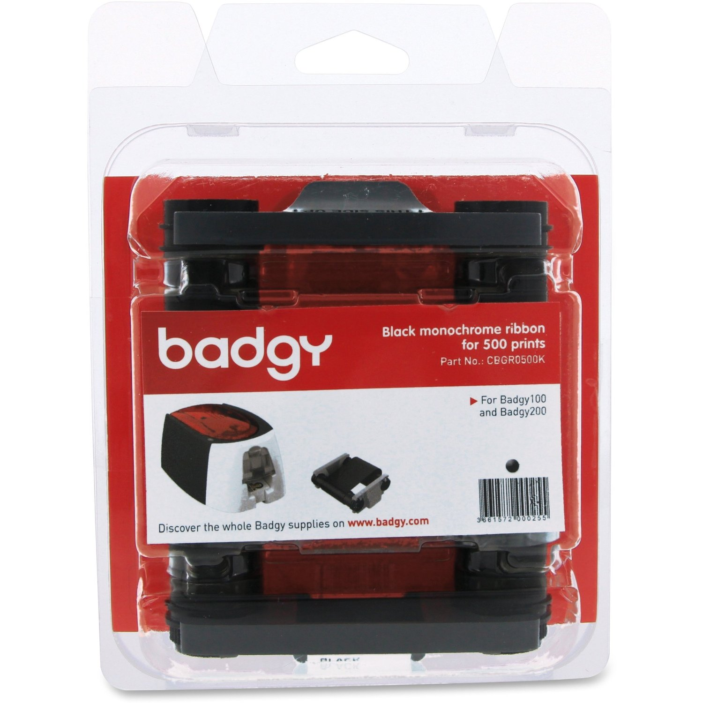 ตลับหมึก สีดำ เครื่องพิมพ์บัตร Evolis รุ่น Badgy 100 และ Badgy 200