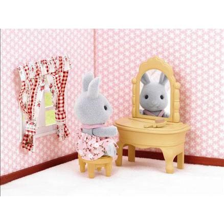Sylvanian families 1725 dressing table toys2thai for Sylvanian families beauty salon dressing table