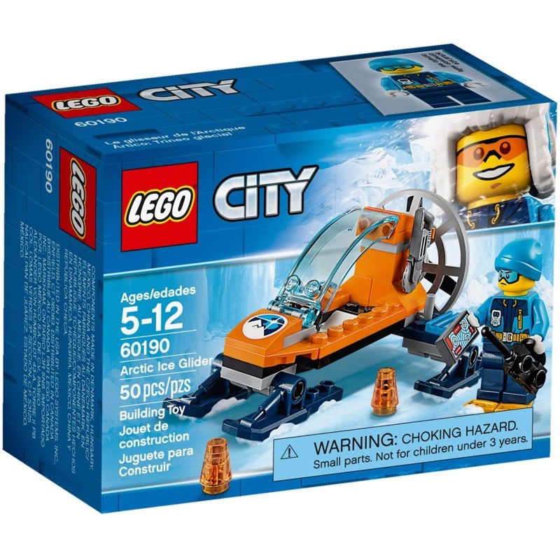 LEGO City 60190 เลโก้ Arctic Ice Glider