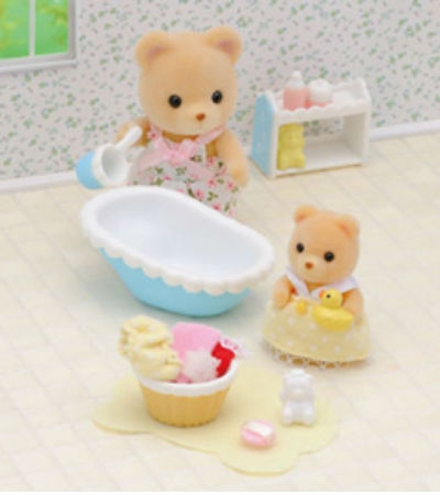 Sylvanian Families 2228 Baby bath time