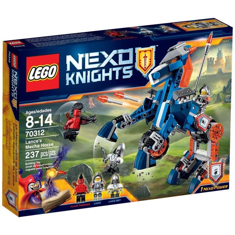 LEGO Nexo Knights 70312 Lance's Mecha Horse